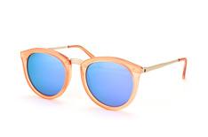 Le Specs No Smirking LSP 1502099, Round Sonnenbrillen, Orange