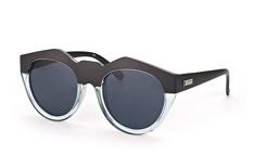 Le Specs Neo Noir LSP 1502093, Round Sonnenbrillen, Transparent