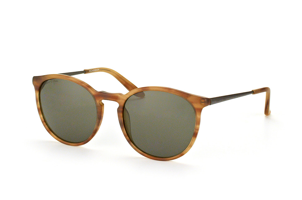 Marc O'polo Eyewear 506108 61, Round Sonnenbrillen, Havana