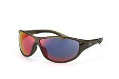 Adidas A 416 6061, Sporty Sonnenbrillen, Schwarz