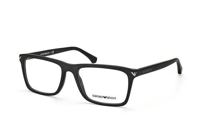 Emporio Armani Herren Brille » EA3071«, schwarz, 5042 - schwarz