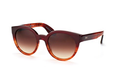 Paul Smith Palmer PM 8228-S-U 1423/13, Butterfly Sonnenbrillen, Dunkelrot
