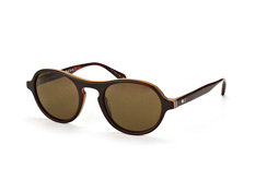 Paul Smith Devonshire PM 8233Su 1425/73, Aviator Sonnenbrillen, Dunkelbraun