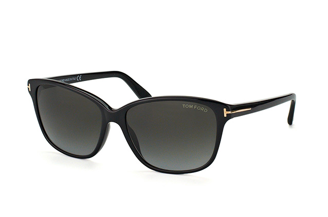 d29aff25bf3 ... Sunglasses  Tom Ford Dana FT 0432 S 01B. null perspective view ...