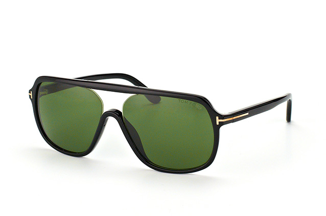 Tom Ford Robert FT 0442/S 01N vue en perpective