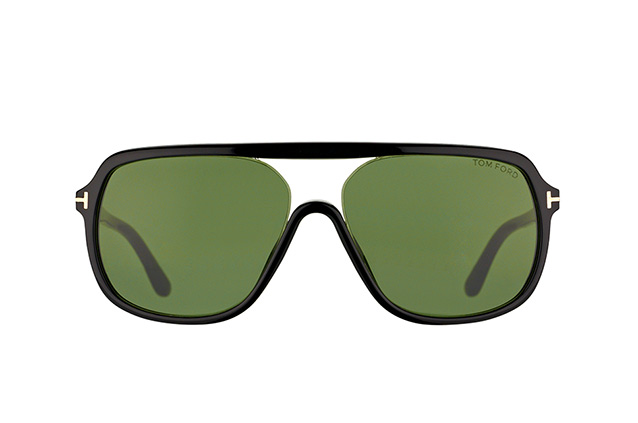 Tom Ford Robert FT 0442/S 01N vista en perspectiva