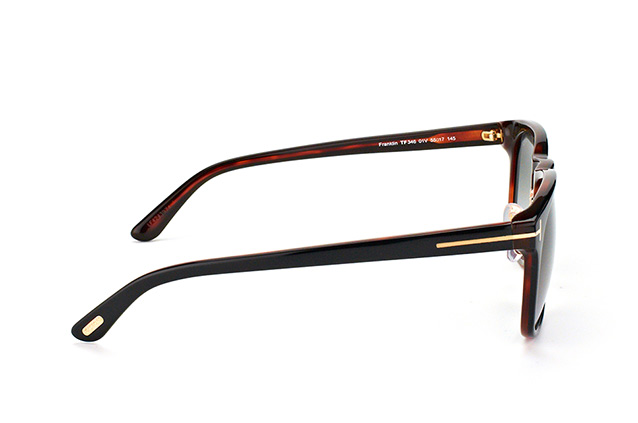 Tom Ford Franklin TF 0346/S 01V vista en perspectiva