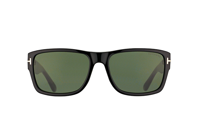 Tom Ford Marson FT 0445/S 01N vista en perspectiva