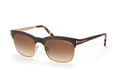 Tom Ford Elena FT 0437/s 48F, Browline Sonnenbrillen, Braun