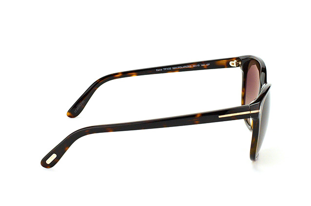 Tom Ford Dana FT 0432/S 52H vista en perspectiva