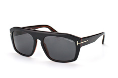 Tom Ford Conrad FT 0470/s 05A, Aviator Sonnenbrillen, Schwarz