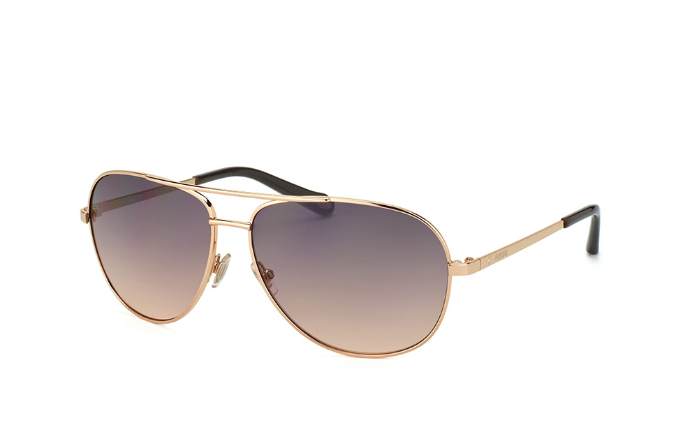 FOS 3010/s Au2Wc, Aviator Sonnenbrillen, Goldfarben