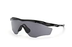 Oakley M2 OO 9343 01, Singlelens Sonnenbrillen, Schwarz