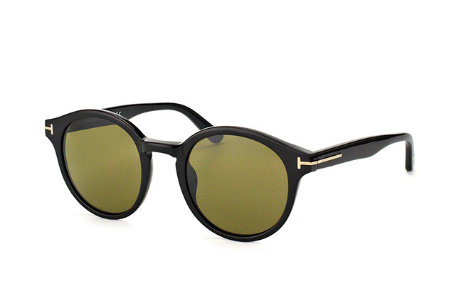 Tom Ford Lucho FT 0400 / S 01J vue en perpective