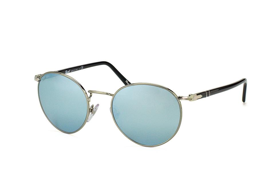 PO 2388S 1039/30, Round Sonnenbrillen, Silber