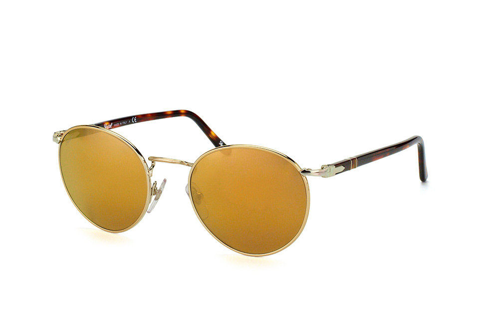 PO 2388S 1016/w4, Round Sonnenbrillen, Goldfarben