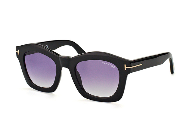 Tom Ford Greta FT 0431/S 01Z vista en perspectiva