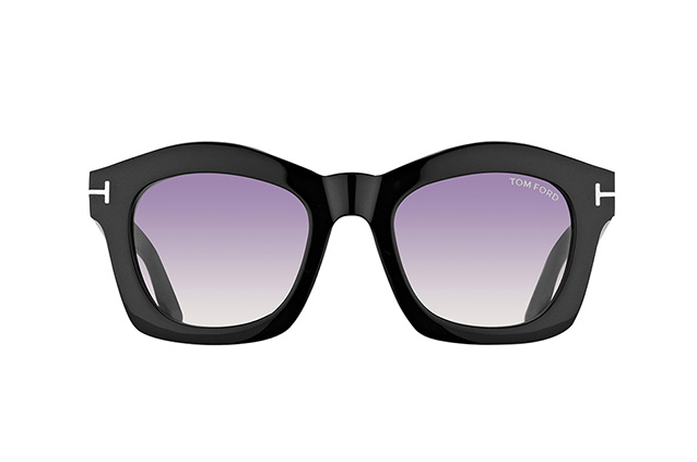 Tom Ford Greta FT 0431/S 01Z vue en perpective