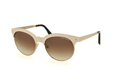 Tom Ford Angela FT 0438/s 28F, Browline Sonnenbrillen, Beige