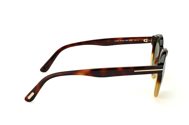 Tom Ford Lucho FT 0400 / S 58N vue en perpective