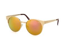Quay Asha Gld, Round Sonnenbrillen, Goldfarben