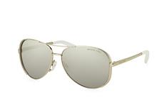Michael Kors Chelsea MK 5004 1001Z3, Aviator Sonnenbrillen, Silber