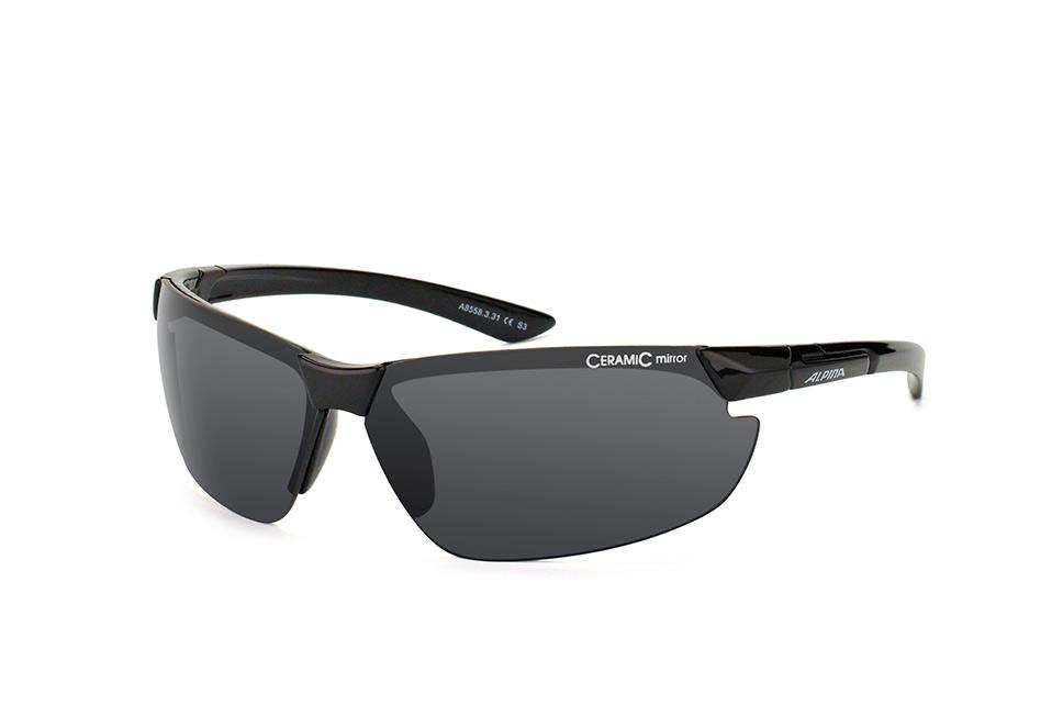 Draff A8558 331, Sporty Sonnenbrillen, Schwarz