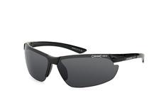 Alpina Draff A8558 331, Sporty Sonnenbrillen, Schwarz
