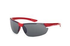 Alpina Draff A8558 351, Sporty Sonnenbrillen, Rot