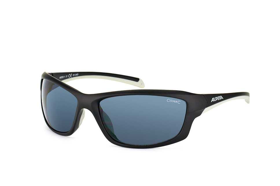 Dyfer A8559 431, Sporty Sonnenbrillen, Schwarz