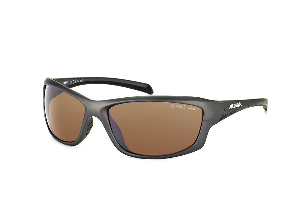 Dyfer A8559 325, Sporty Sonnenbrillen, Dunkelgrau