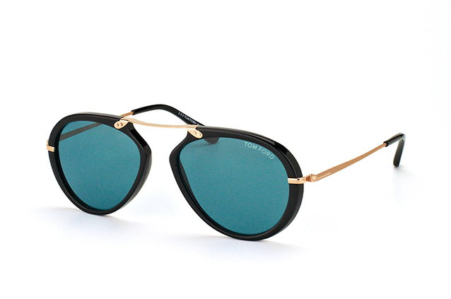Tom Ford Aaron FT 0473/S 01V vista en perspectiva