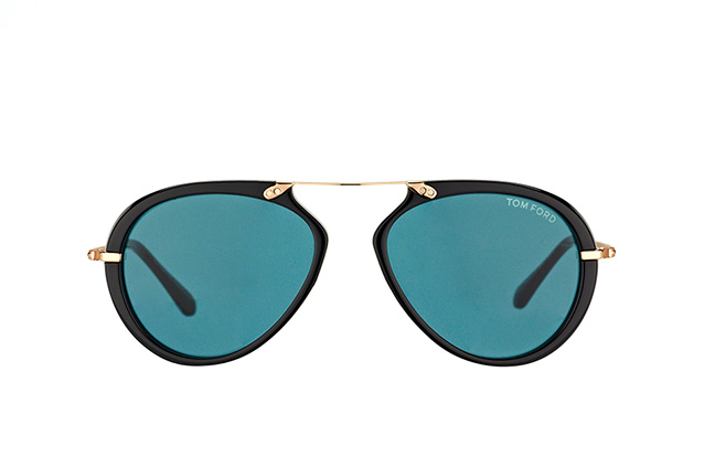 Tom Ford Aaron FT 0473/S 01V vue en perpective