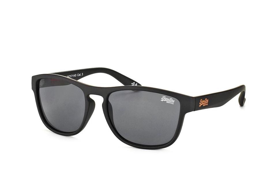 Rockstar 104B, Square Sonnenbrillen, Schwarz