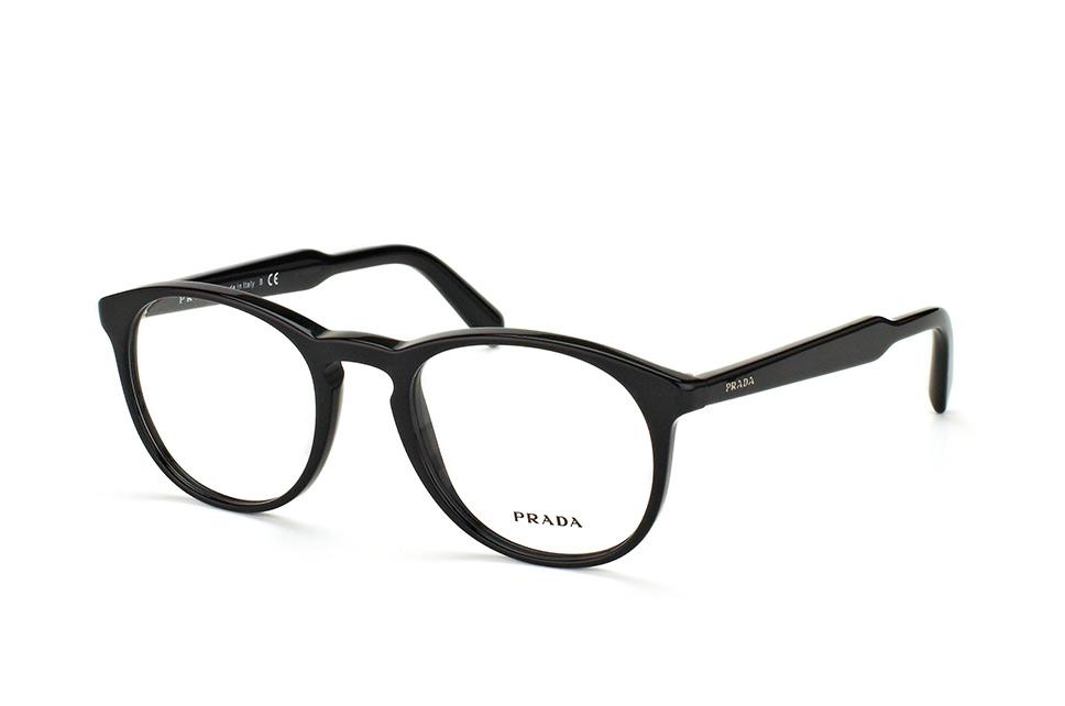 PRADA Prada Damen Brille » PR 12UV«, braun, UAO1O1 - braun