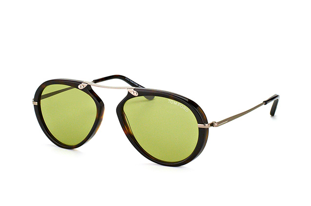 Tom Ford Aaron FT 0473/S 52N vista en perspectiva