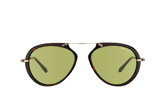 Tom Ford Aaron FT 0473/S 52N vue en perpective