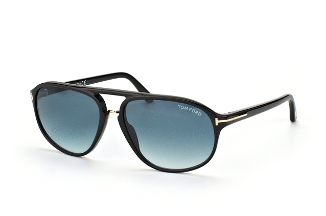 Tom Ford Jacob FT 0447/S 01P Perspektivenansicht