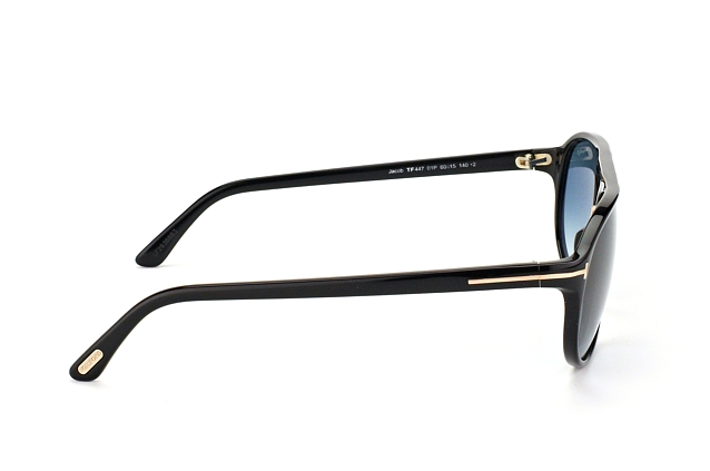 Tom Ford Jacob FT 0447/S 01P vista en perspectiva