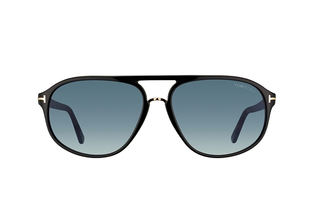 Tom Ford Jacob FT 0447/S 01P vue en perpective