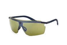 Puma PU 0003S 005, Sporty Sonnenbrillen, Blau