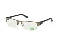 Puma PU 0033O 004, Rectangle Brillen, Silber