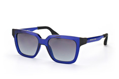 McQ MQ 0014S 003, Square Sonnenbrillen, Blau