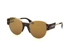 McQ MQ 0001S 003, Round Sonnenbrillen, Goldfarben
