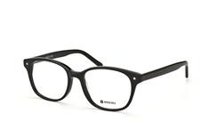 Mister Spex Collection Anderson 1079 002, Round Brillen, Schwarz