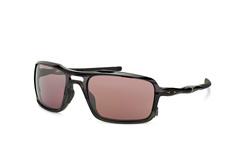Oakley Triggerman OO 9266 06, Sporty Sonnenbrillen, Schwarz