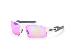 Oakley Flak 2.0 OO 9295 06 Prizm™GOLF, Sporty Sonnenbrillen, Weiss