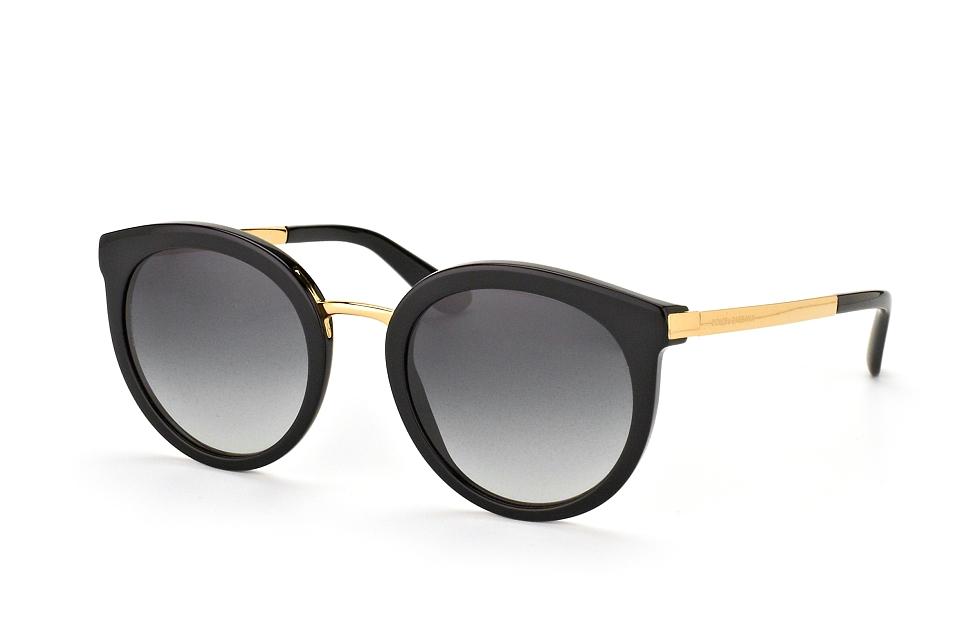 DOLCE & GABBANA Dolce & Gabbana Damen Sonnenbrille » DG4269«, goldfarben, 28886G - gold/schwarz