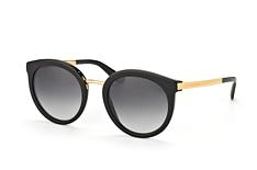 Dolce&Gabbana DG 4268 501/8G, Round Sonnenbrillen, Schwarz