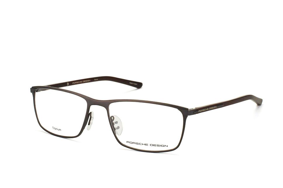P 8287 C, Rectangle Brillen, Dunkelgrau